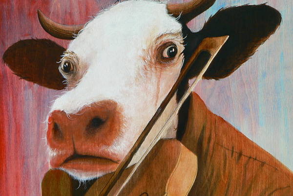 Musicien bovin